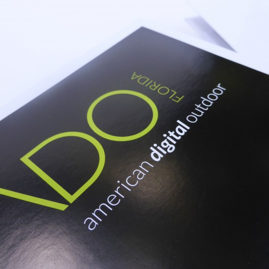 ado logo and folder design