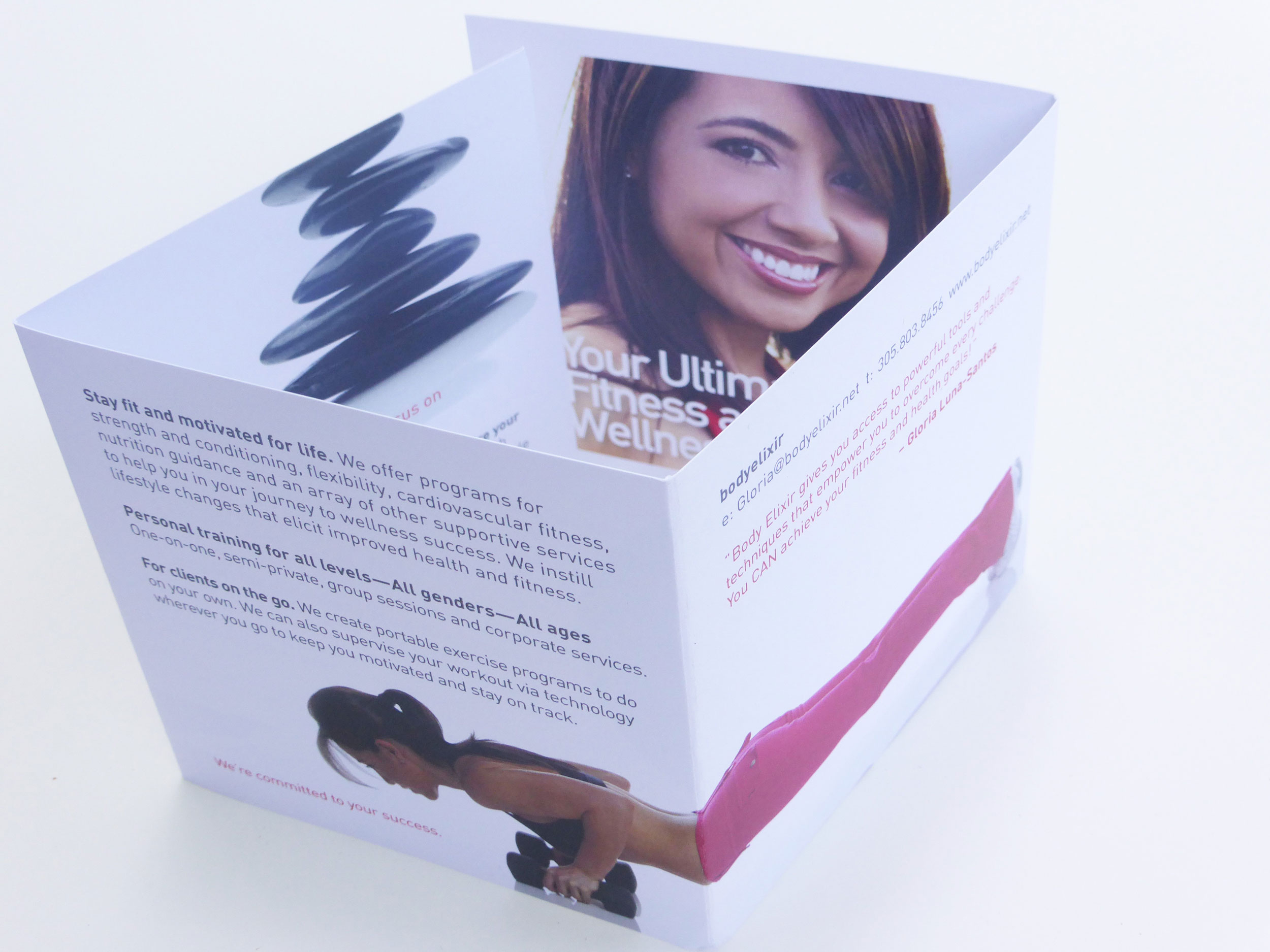 body elixir brochure creative