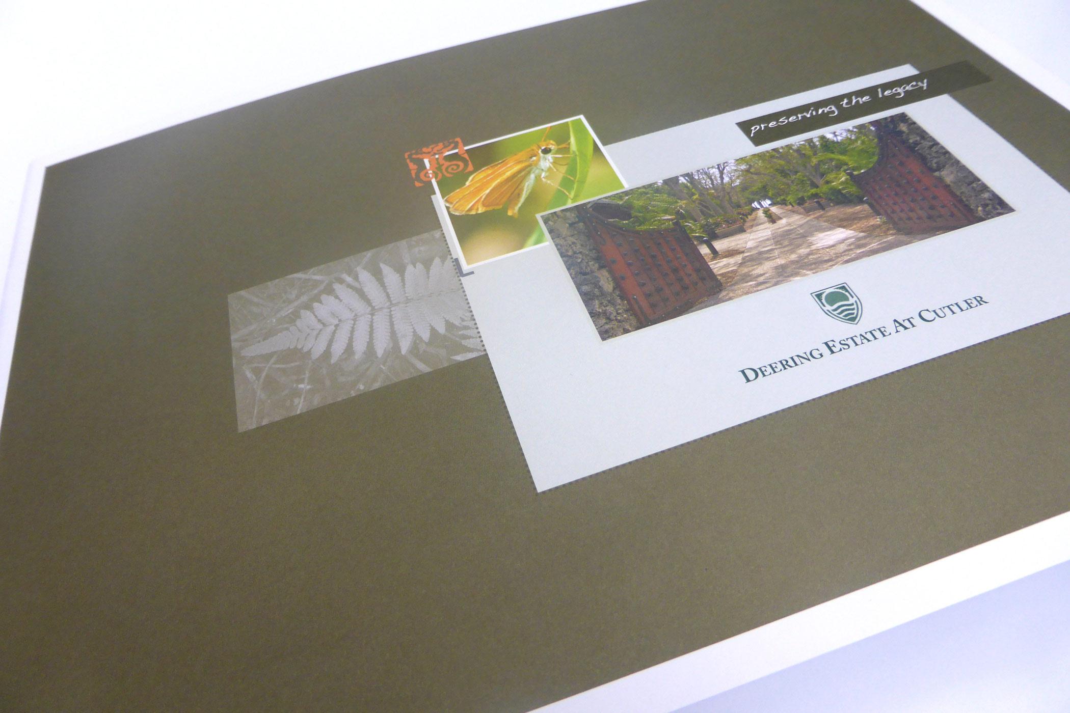 deering annual report design
