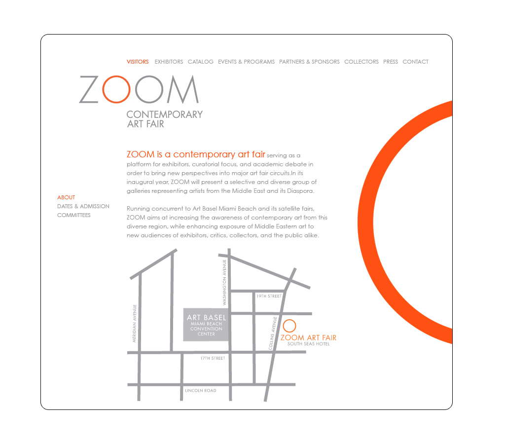 zoom website and logo design