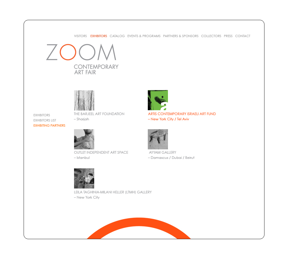 zoom website and logo creative