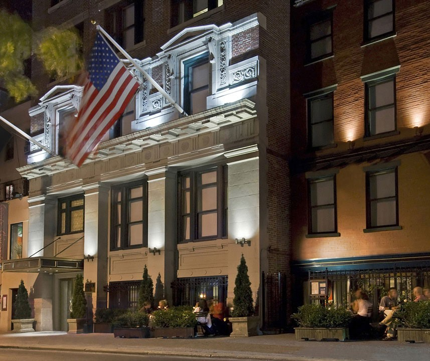 Park South Hotel prior to new logo implementation