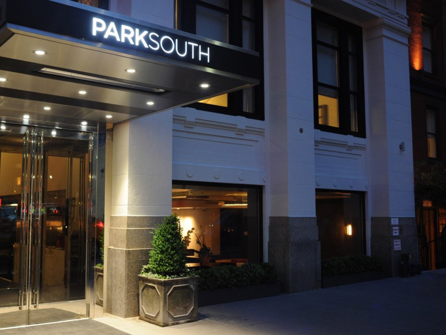 Park South Hotel OutDoor Signage and Visual Identity Logo